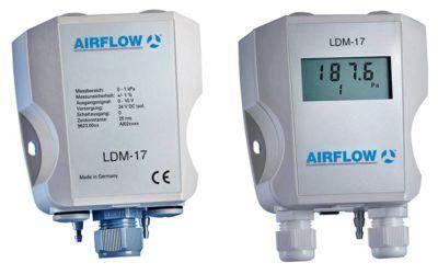 Neuer Differenzdruckmessumformer LDM-17