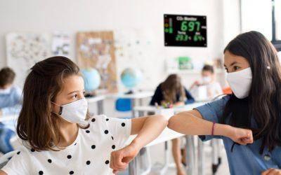 CO2-Messung in Klassenräumen