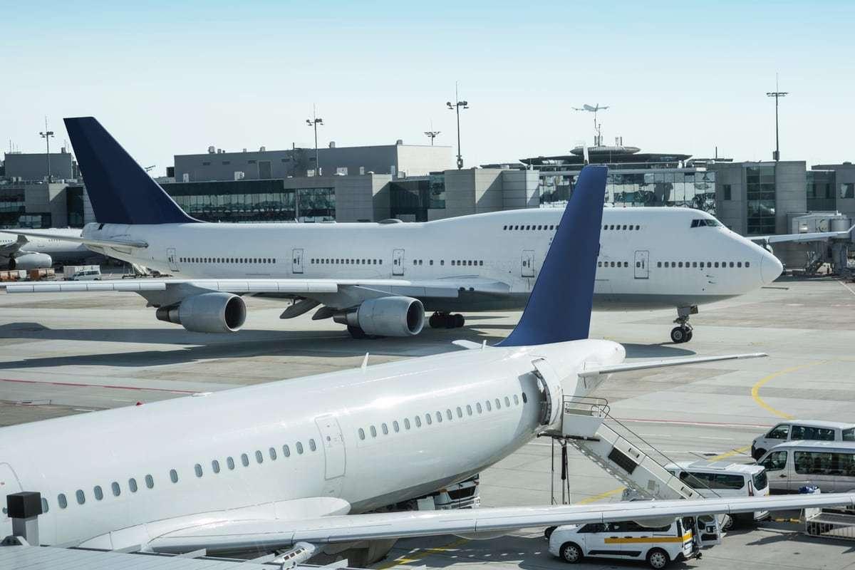 Flughafen Frankfurt mit Airflow Lüftungsgeräten