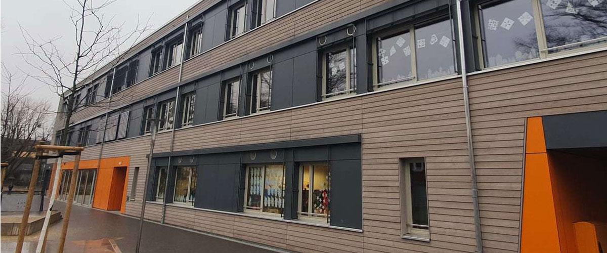 Ursula-Wölfel-Schule in Wiesbaden mit Airflow Lüftungsgeräten