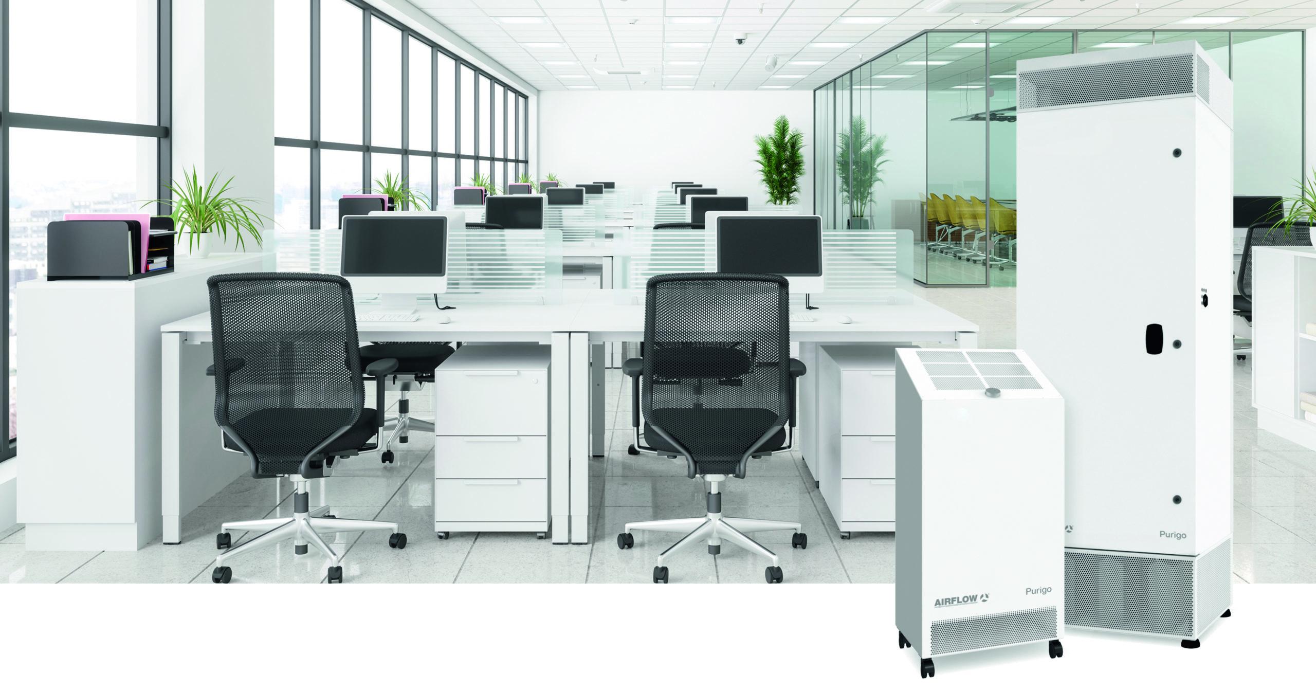 Luftreiniger Purigo für Büros