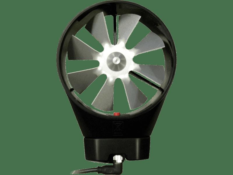 Artikelbild des Messgeräts Flügelrad-Anemometerkopf 100 mm
