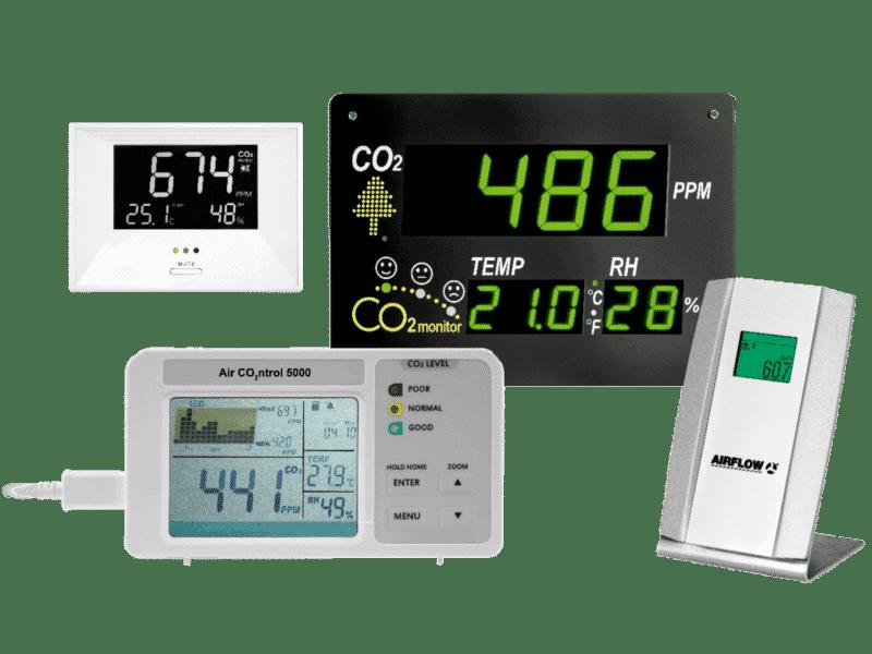 Artikelbild der Produktserie CO2-Monitore
