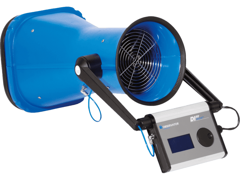 DIFF – Digitales Volumenstrommessgerät