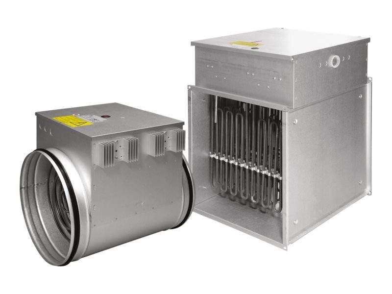 Artikelbild des Geräts Elektrischer Luftnacherhitzer EPO-V - geräteextern