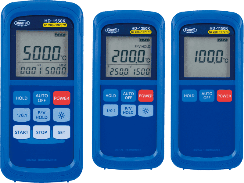 Artikelbild der Produktserie Temperaturmessgeräte HD Serie