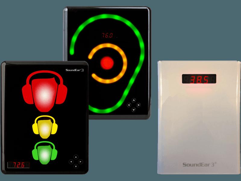 Artikelbild der Produktserie Lärmampeln SoundEar III Serie