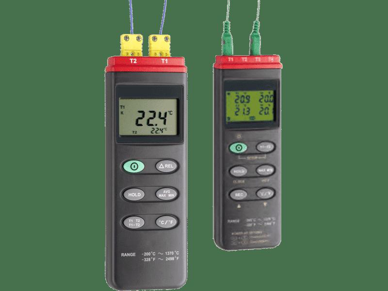 Artikelbild der Produktserie Thermoelement-Messgeräte TC