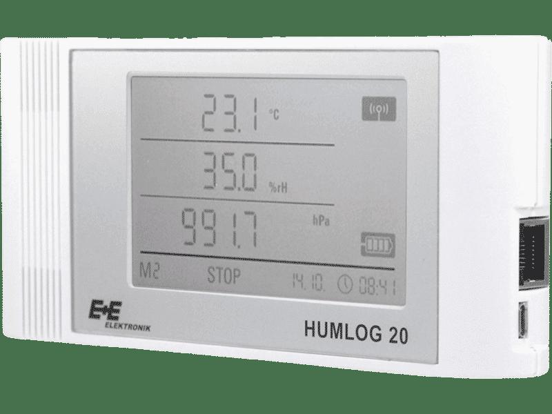 Luftqualitätsmessgeräte HUMLOG 20