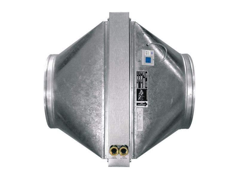 Artikelbild des Geräts Warmwasser-Lufterhitzer - geräteextern