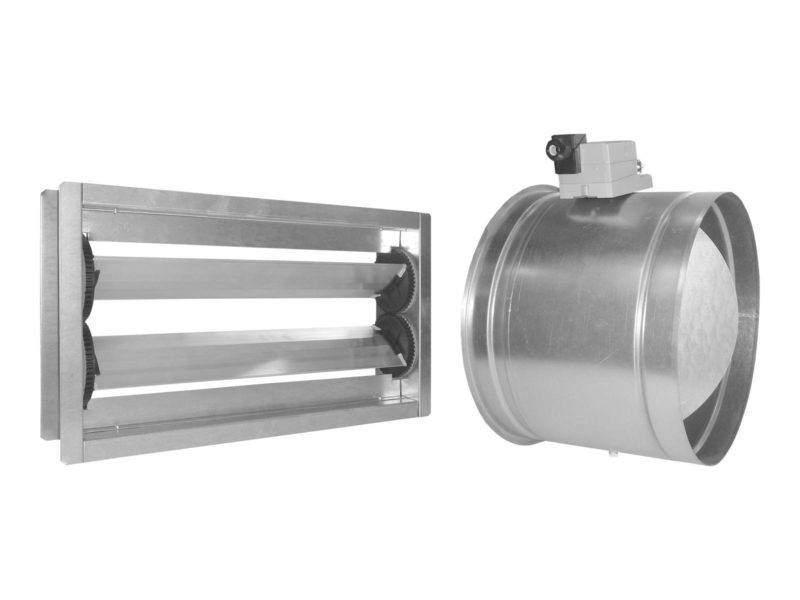 Artikelbild des Geräts Verschlussklappen für Außenluft e1 und Abluft i1