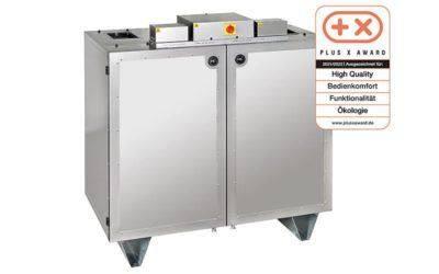 Lüftungsgerät DUPLEX<em>base</em> PT – ein ausgezeichnetes Produkt