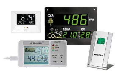 Referenzen für CO2-Monitore