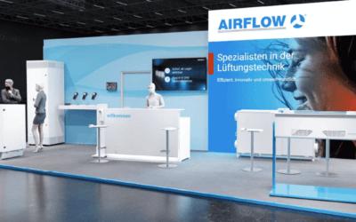 Airflow auf der Indoor-Air 2021